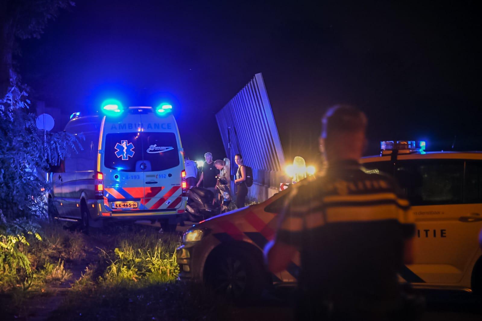 Scooterrijder (19) overleden aan verwondingen bij ongeval in Hilversum