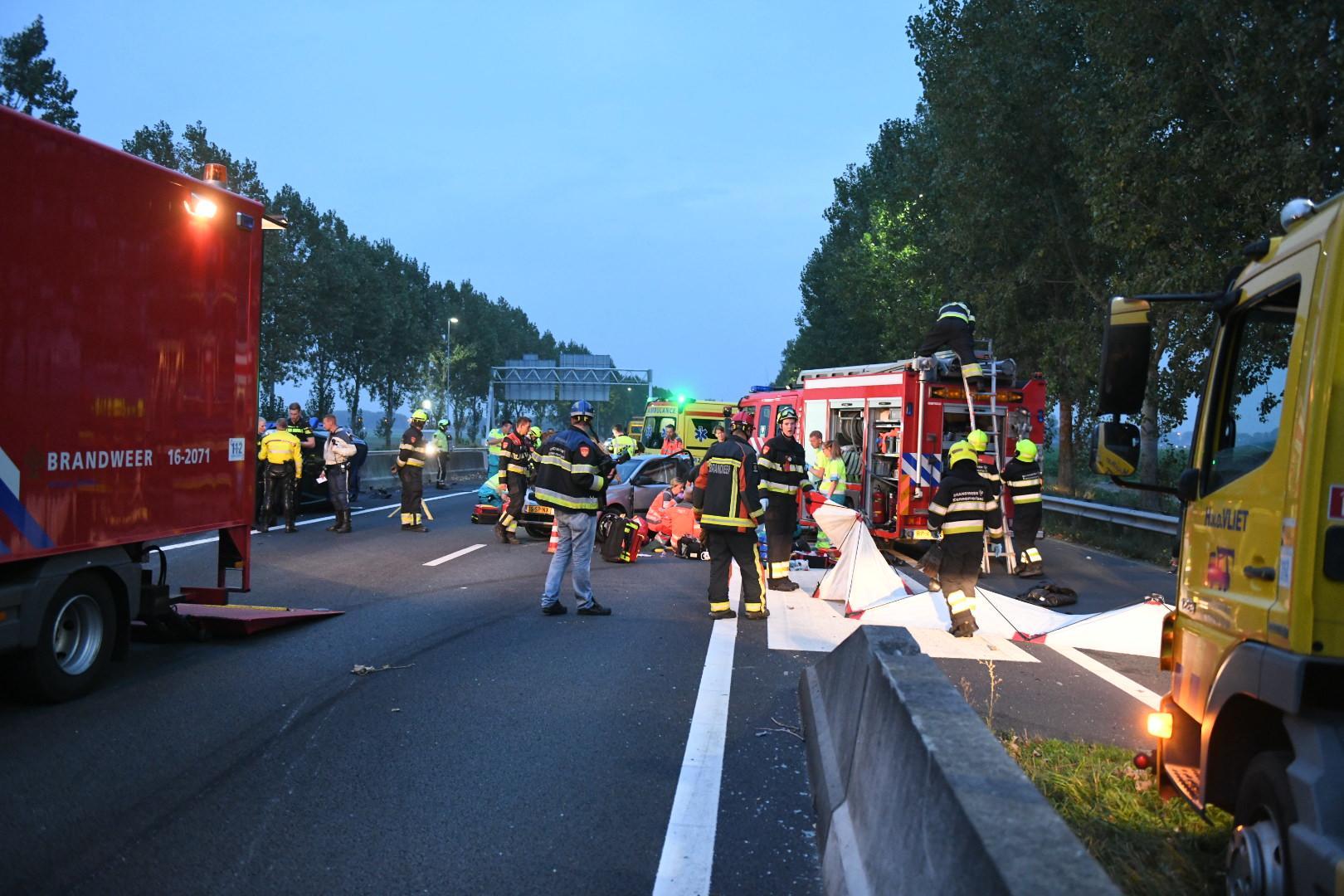 'Automobilist doorgesnoven en veel te snel bij fatale botsing A44'