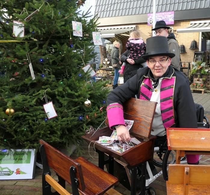 Opnieuw wensbomen om kerstgedachte in gemeente Opmeer een zetje te geven