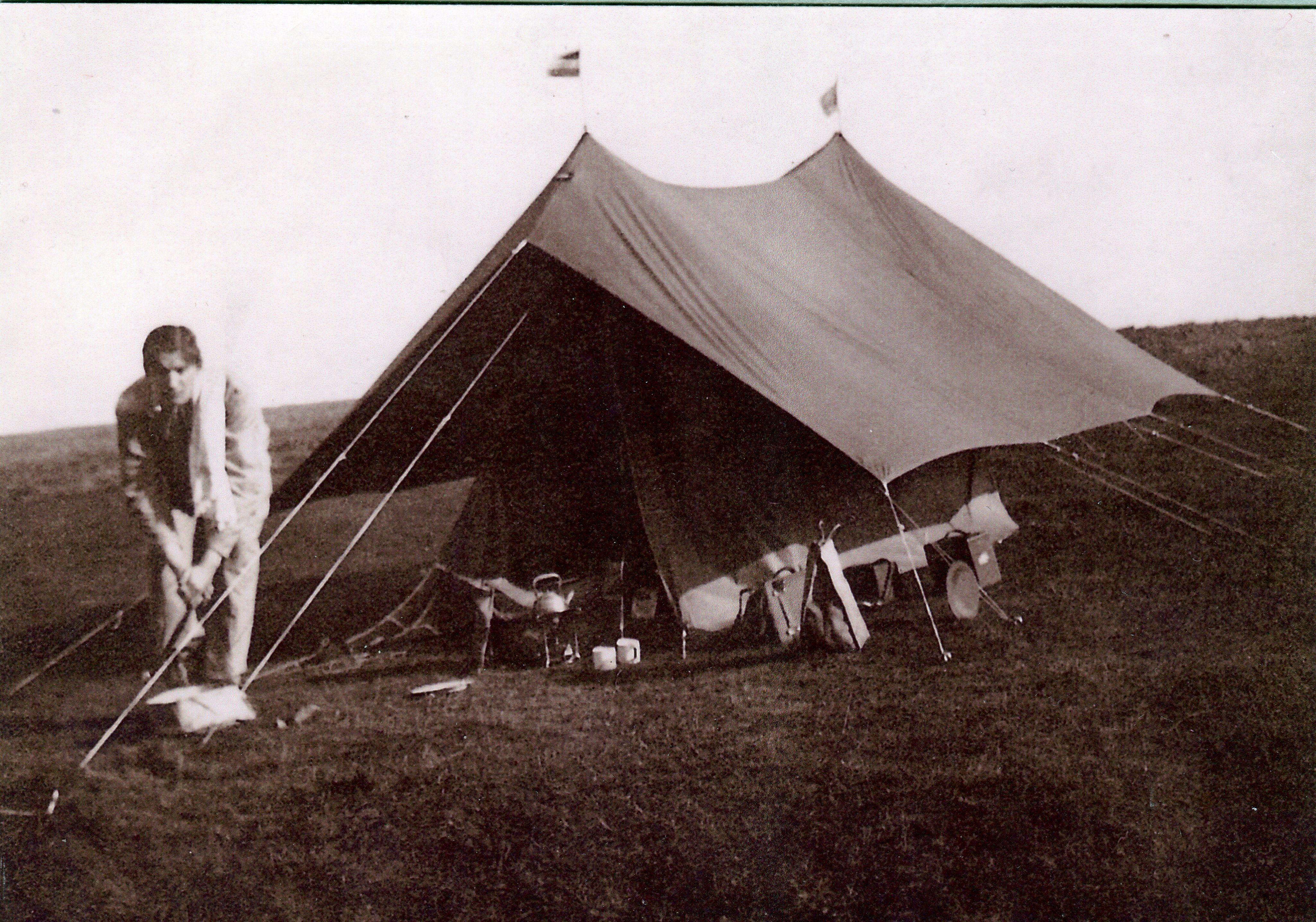 Nederlandse kampeermanie begon als buitenactiviteit voor de elite