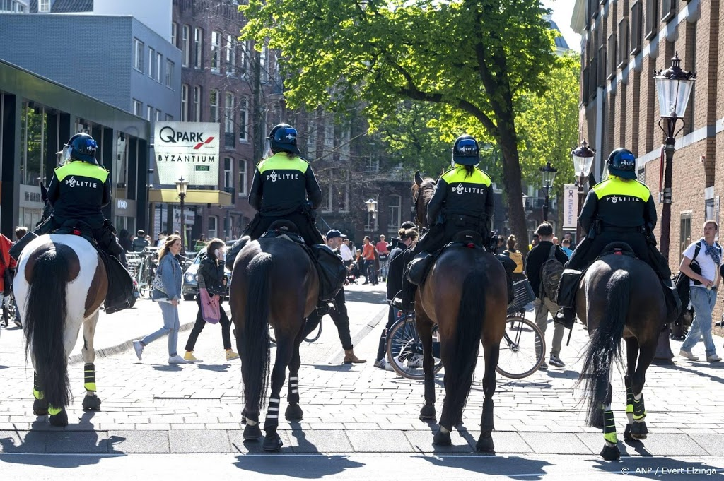 Parken ontruimd door politie vanwege drukte op Koningsdag