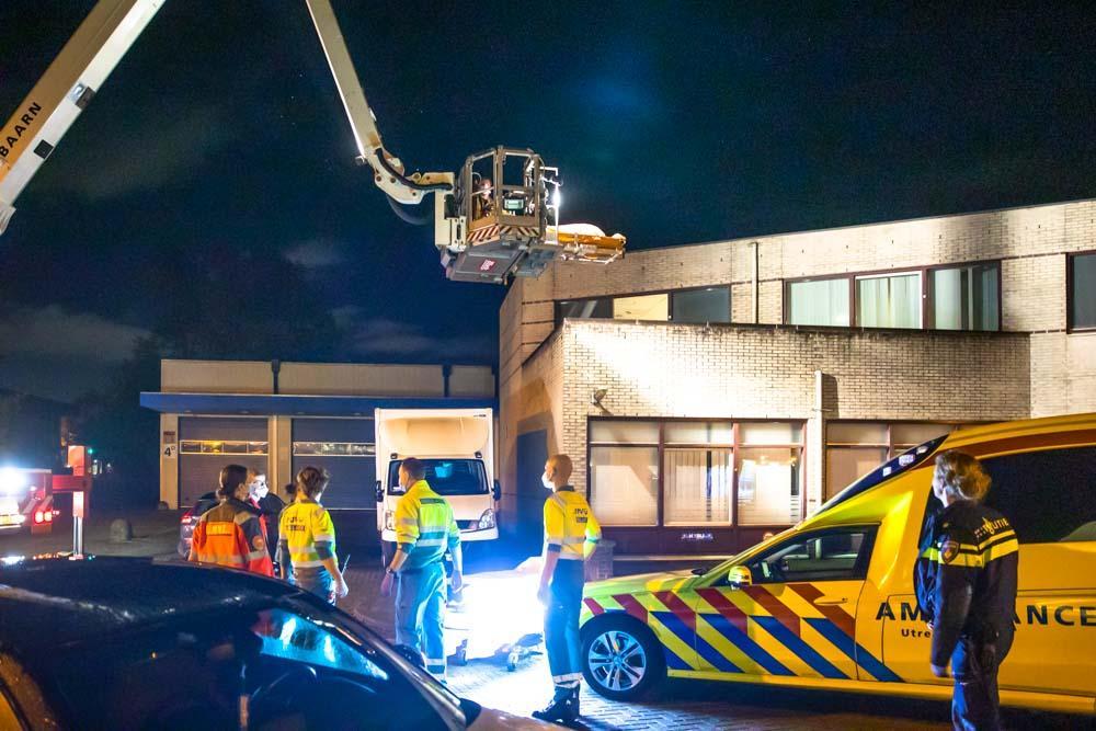 Man (26) aangehouden na vondst zwaargewonde op Drie Eiken in Baarn, verdacht van poging doodslag of zware mishandeling