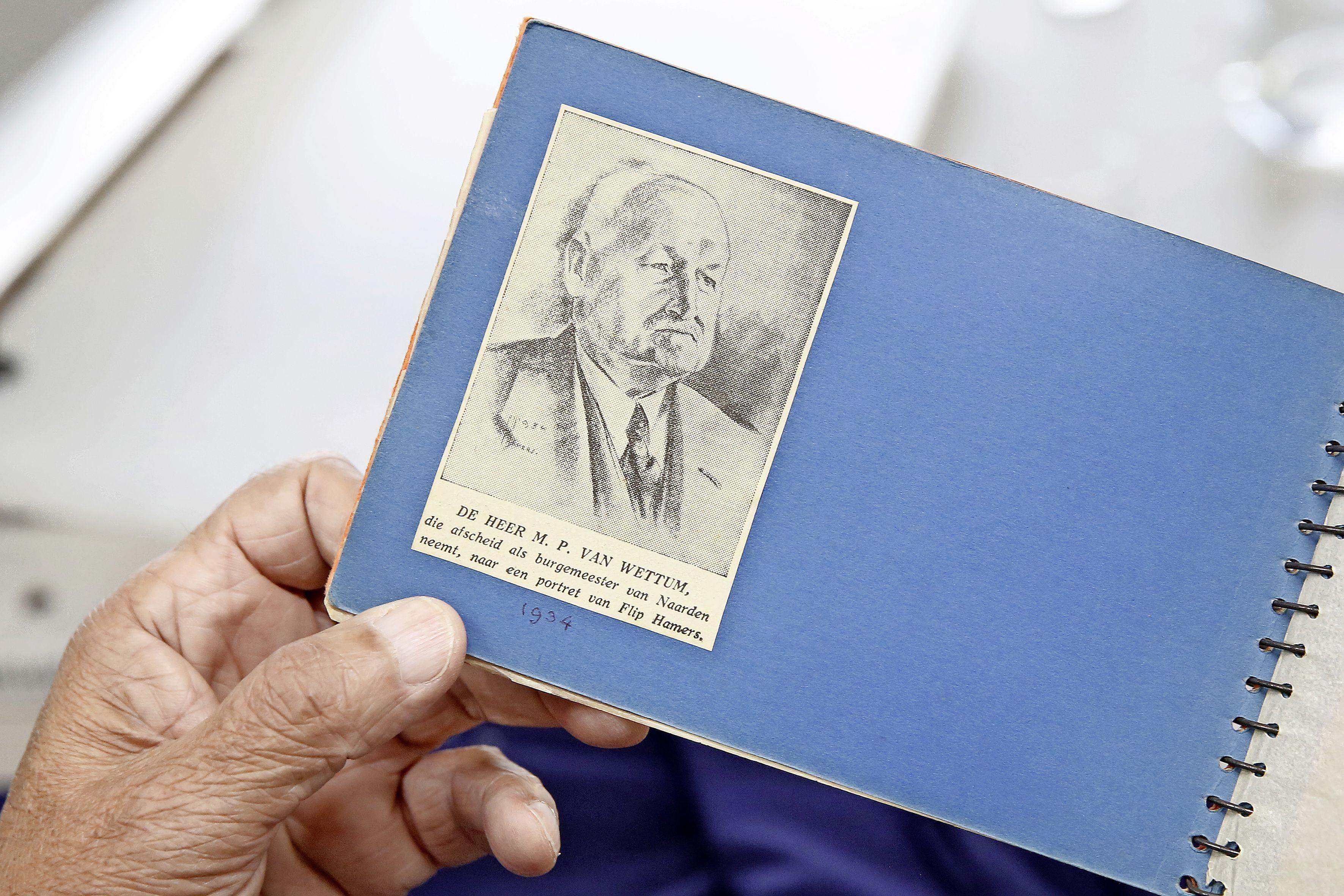 Portret is na 80 jaar van omzwervingen weer terug. Zoon van schilder Flip Hamers brengt tekening van vroegere burgemeester weer 'naar waar hij hoort'