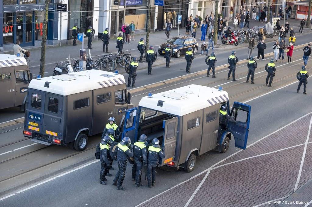 Laatste overgebleven actievoerders verlaten Museumplein