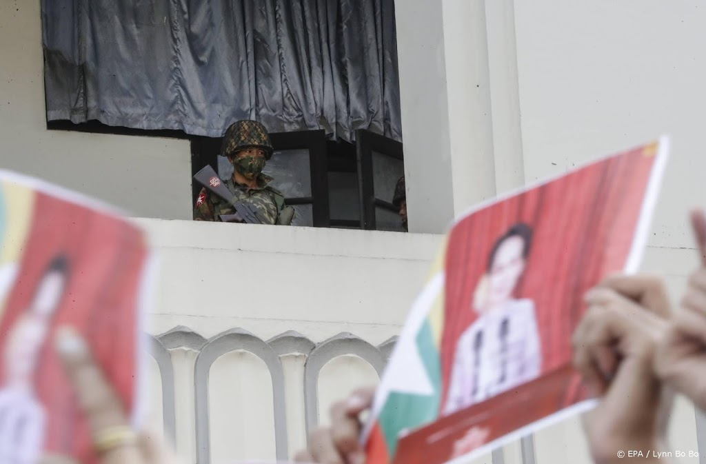 Amerikaanse sancties tegen legerleiders Myanmar