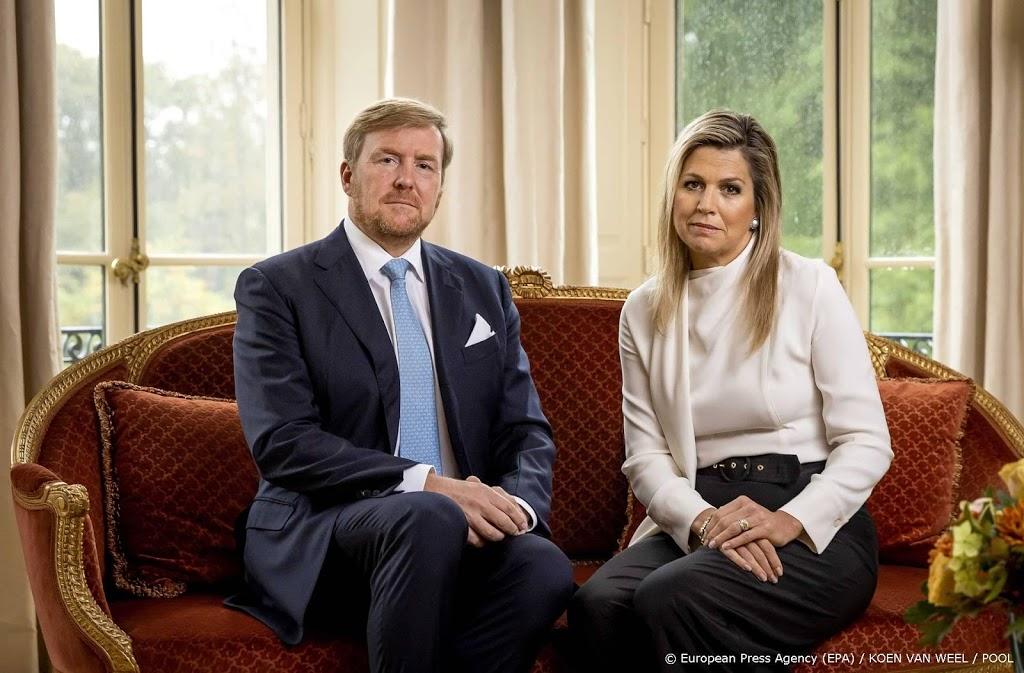 Willem-Alexander en Máxima bedanken hulpverleners na rellen