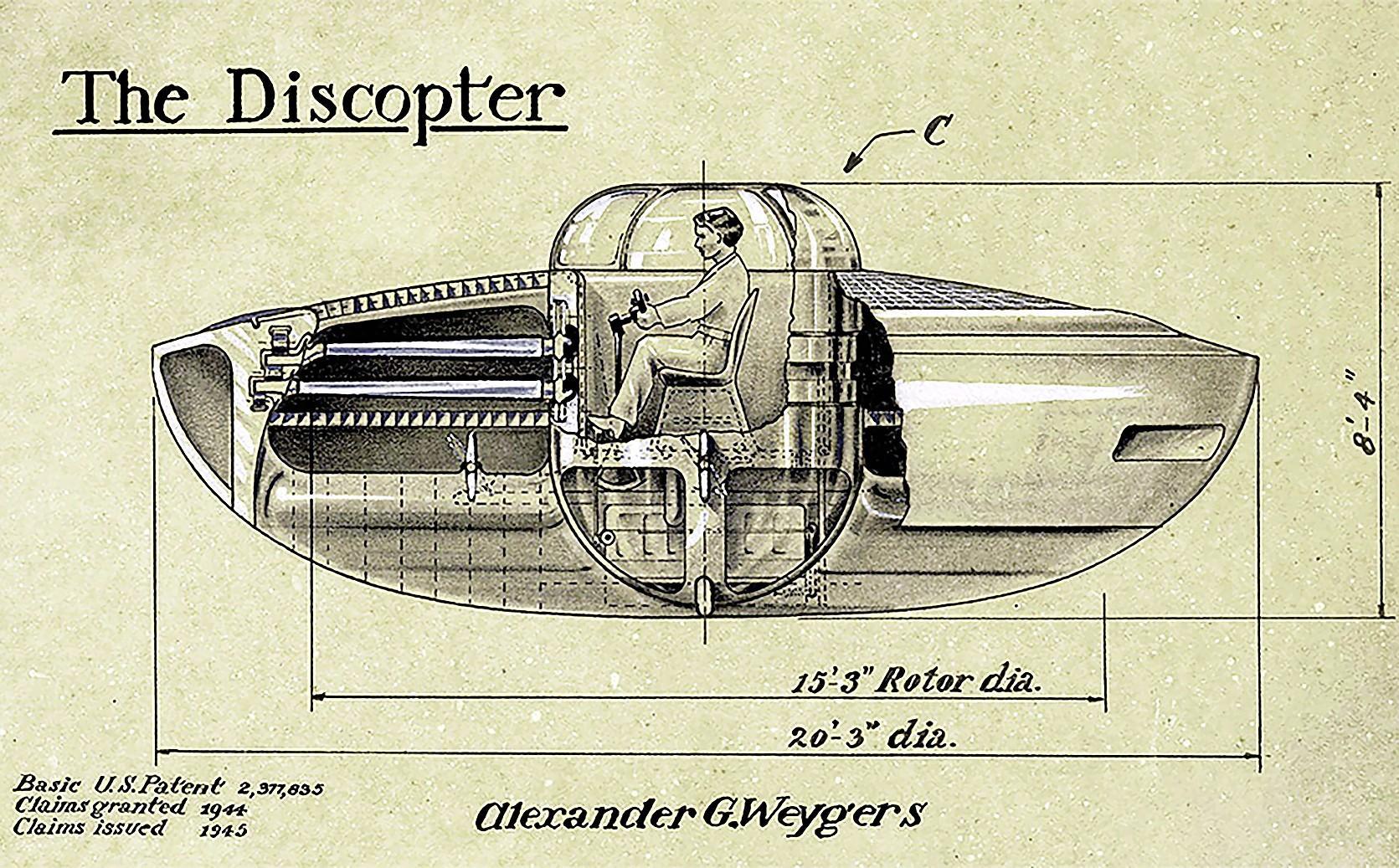 Vergeet de ufo. De vliegende schotels zijn bedacht door een Nederlander