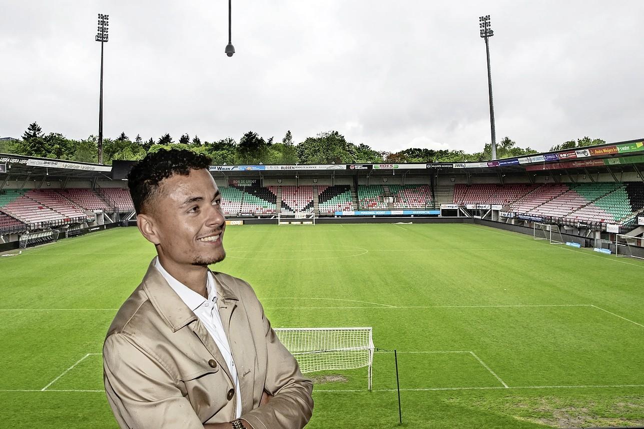 Voetballer Ilias Bronkhorst over zijn voetbalsprookje, van Telstar naar de eredivisie: 'Ik heb er echt keihard voor gewerkt'