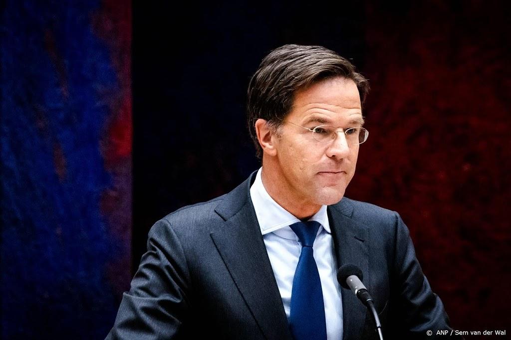 Rutte ziet bijzondere rol voor Nederland in betrekkingen met VS