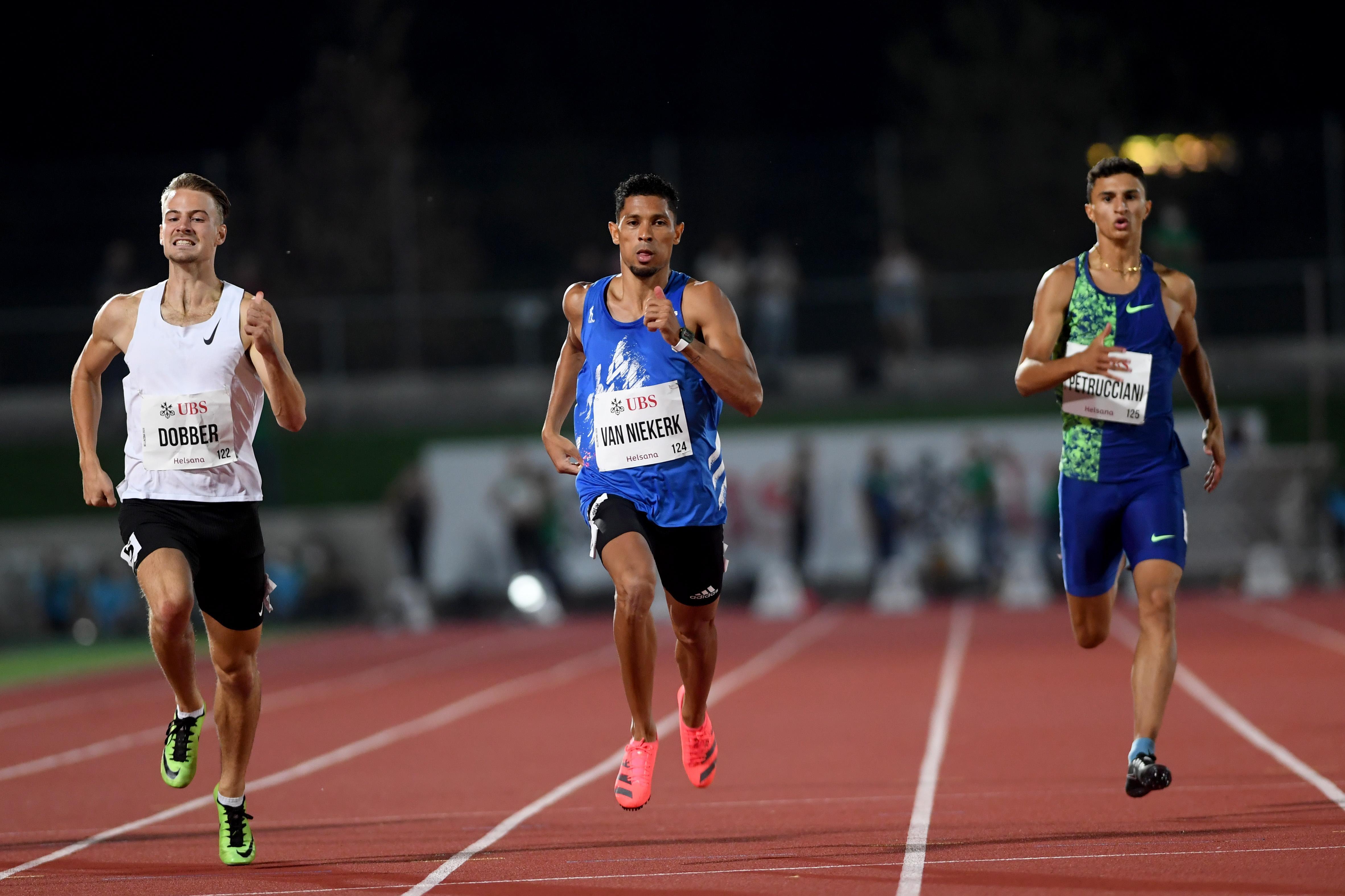 Atleet Jochem Dobber (23) uit Santpoort-Zuid vlak achter olympisch kampioen op 400 meter bij wedstrijden in Zwitserland [video]
