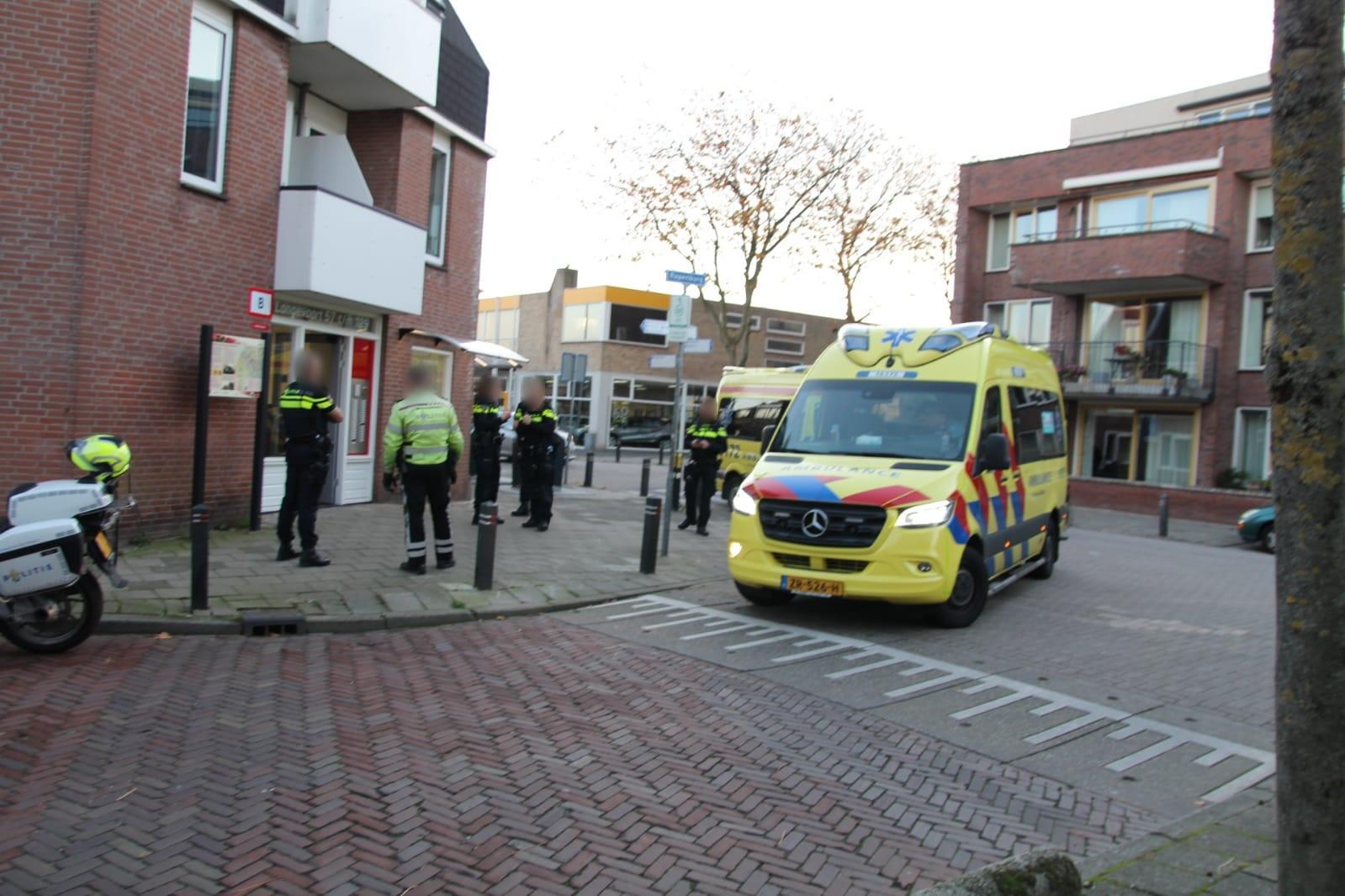 Man raakt ernstig gewond bij val tijdens arrestatie in Rijnsburg