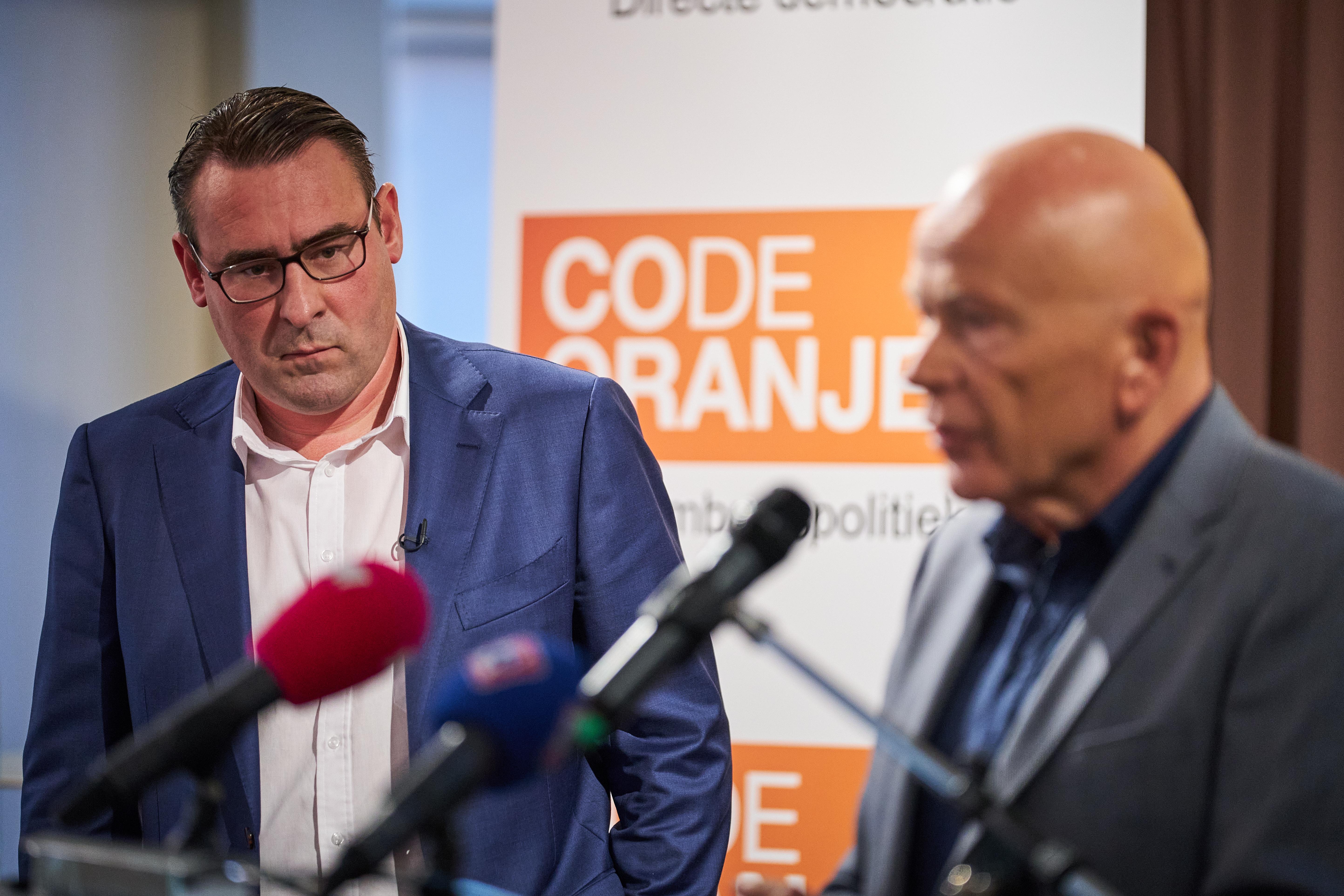 De Mos wil Code Oranje grootste partij van Nederland maken, al noemt hij dat zelf 'Haagse bluf'
