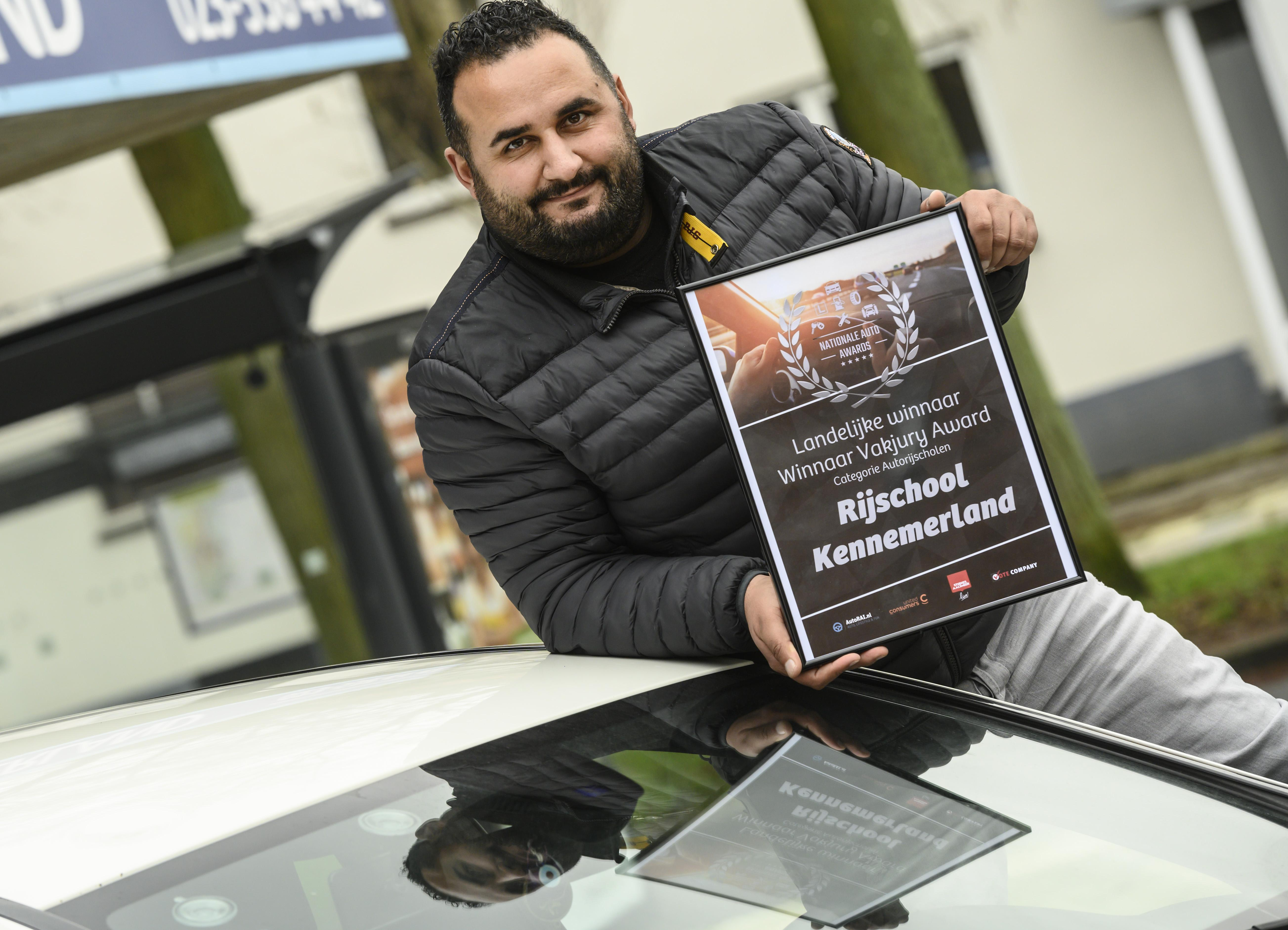 Haarlemse rijschool verkozen tot beste van Nederland
