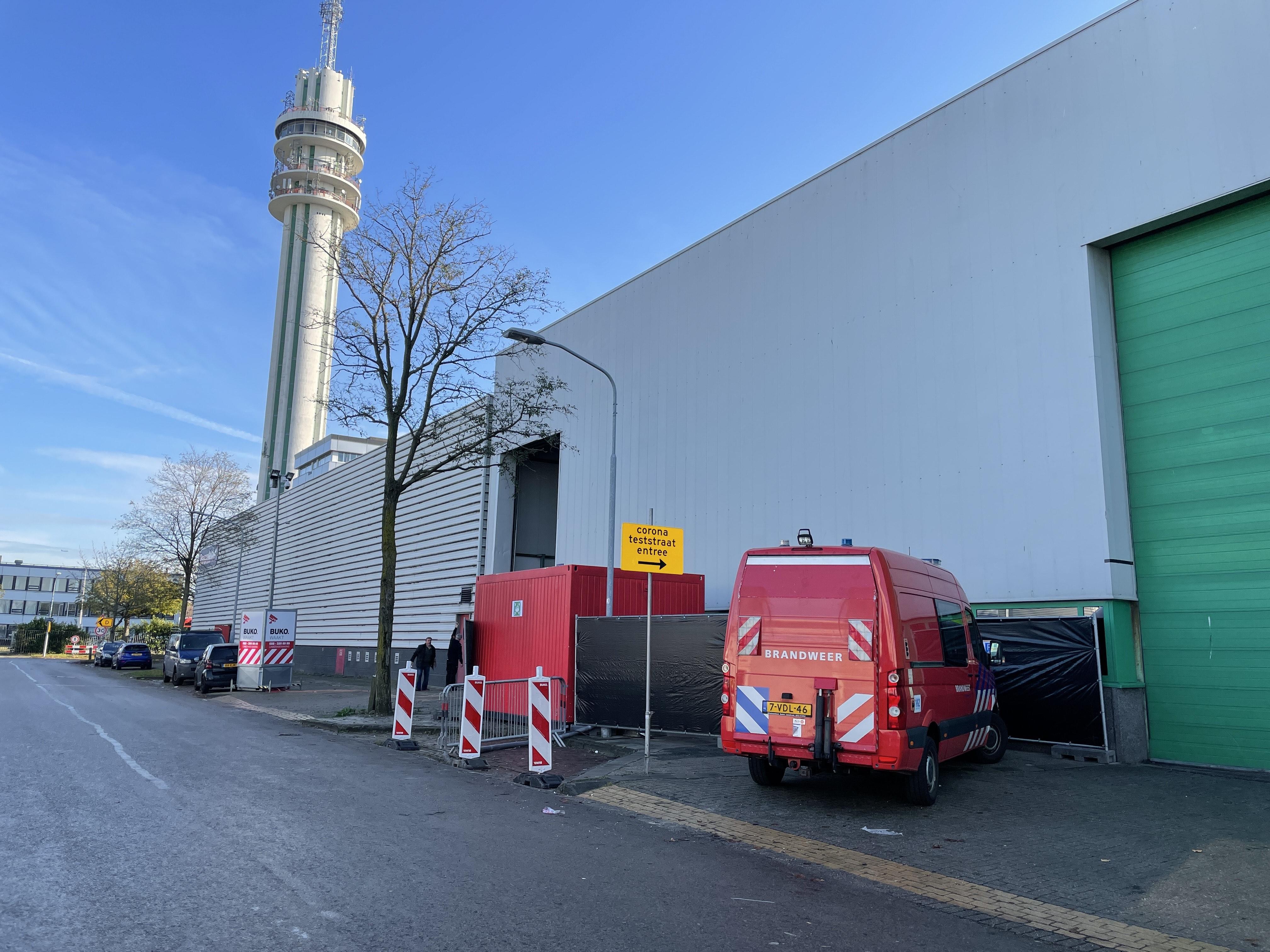 Coronateststraat in Haarlem dicht na afgaan koolmonoxidemelder
