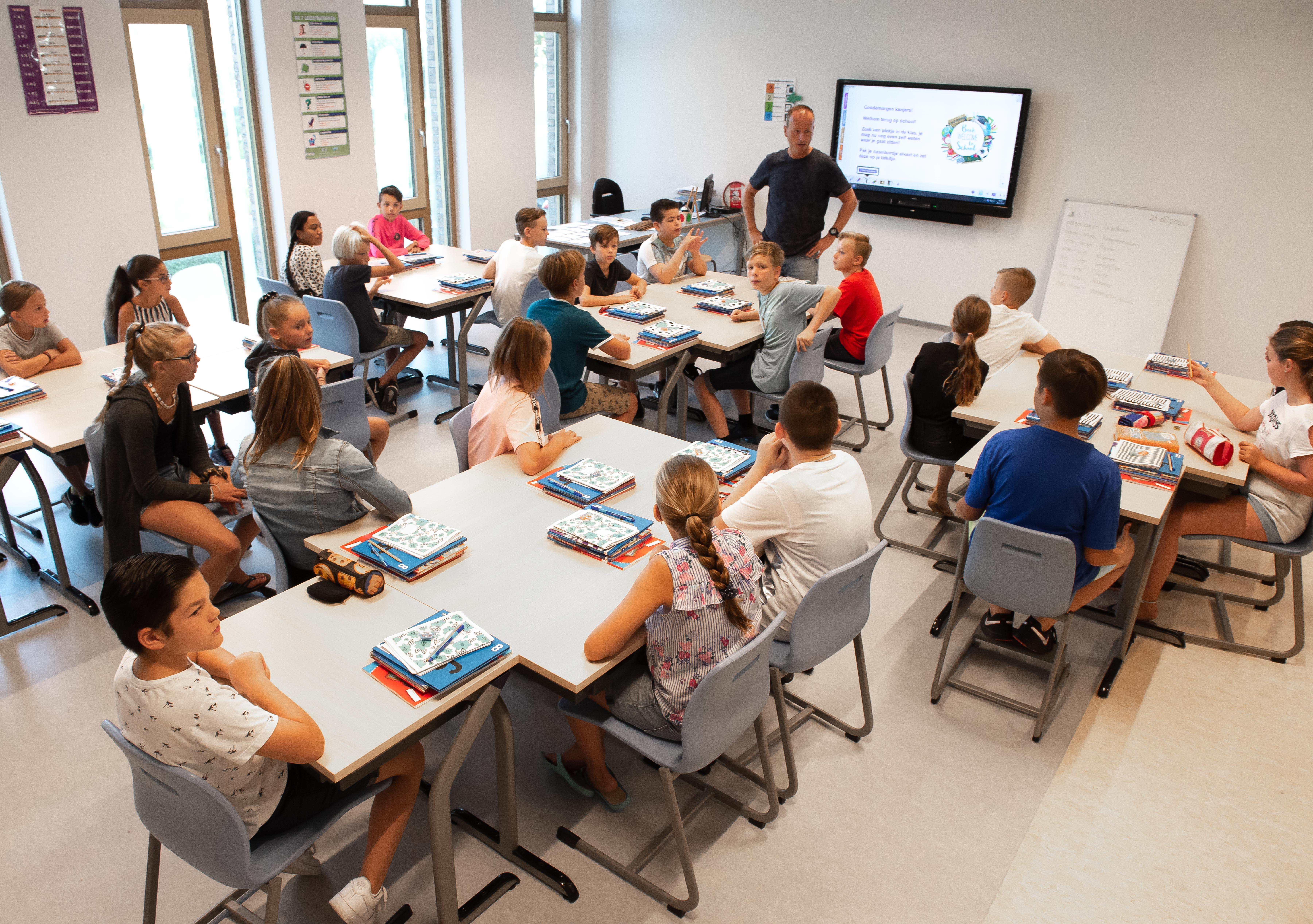 De Werf in Zaandijk start nieuw schooljaar in nieuw schoolgebouw