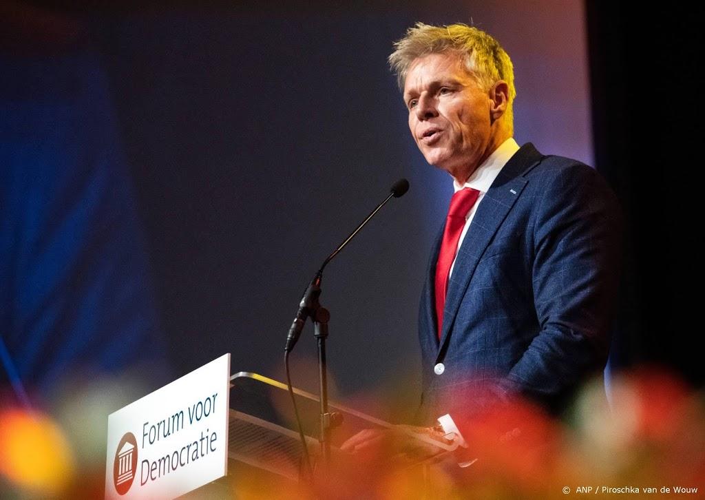 Brusselse FVD'ers steunen partijbestuur in conflict met Baudet