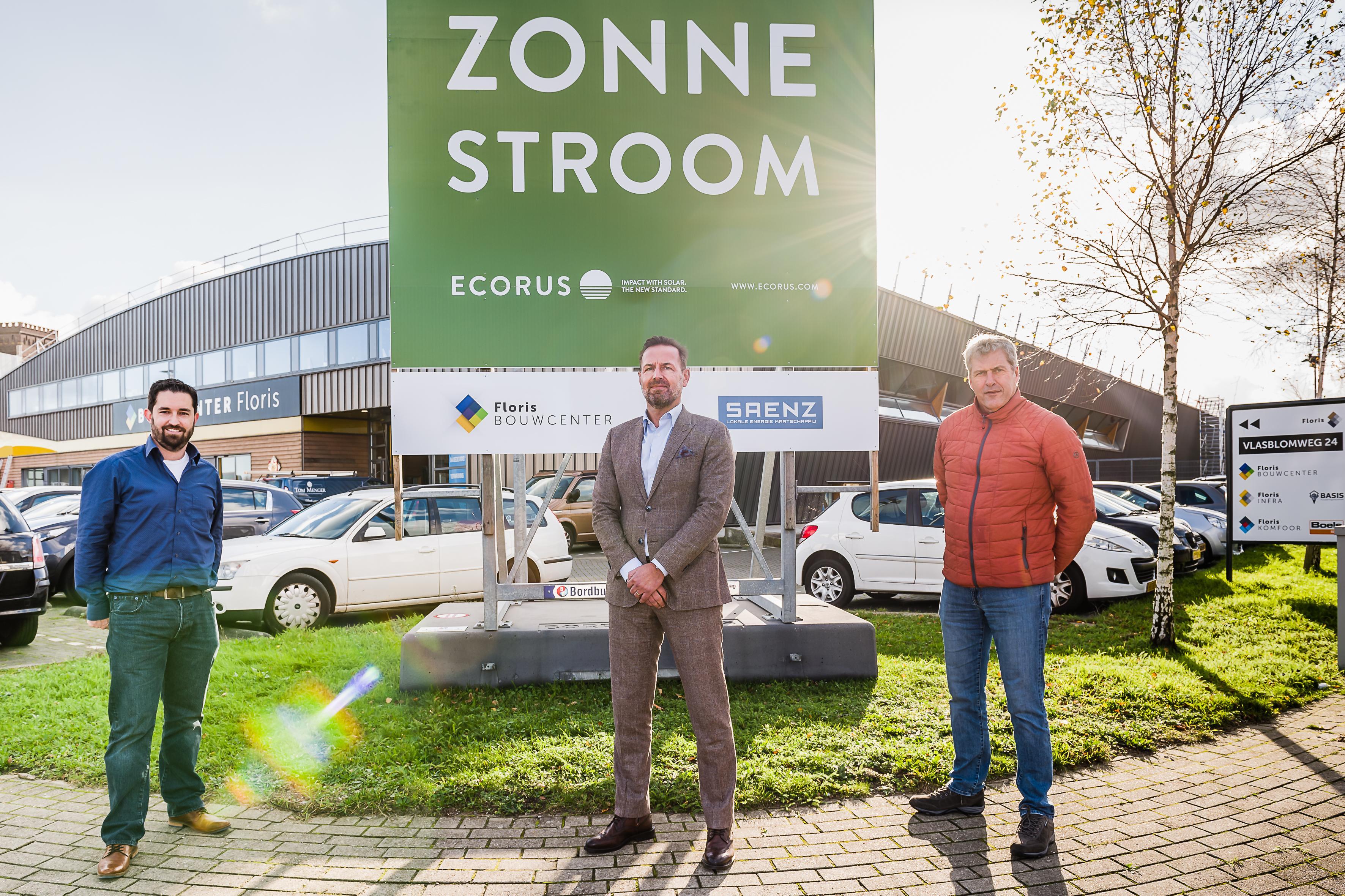 Collectief Saenz maakt groeispurt met 1800 zonnepanelen op dak Floris Groep Wormerveer