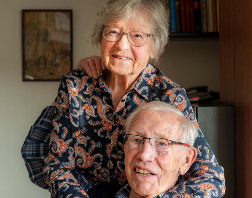Freddy en Hans Hamel zijn 70 jaar getrouwd: 'Ik werd nooit snel verliefd, maar hij was een echte doorzetter'