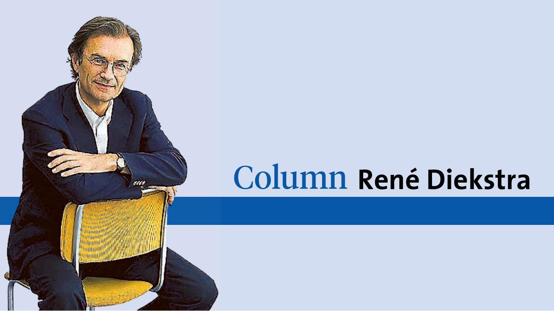 René Diekstra is geprikt en moet een kwartier wachten in de vaccinatiestraat. Tijd om gedachten te ordenen | Column