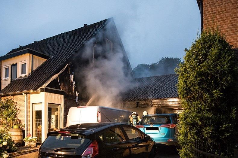 Woningbrand in Bunschoten-Spakenburg: 'Melrik Heinen is vandaag de held'