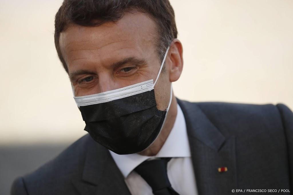 Macron: VS en Britten mogen export vaccins niet blokkeren