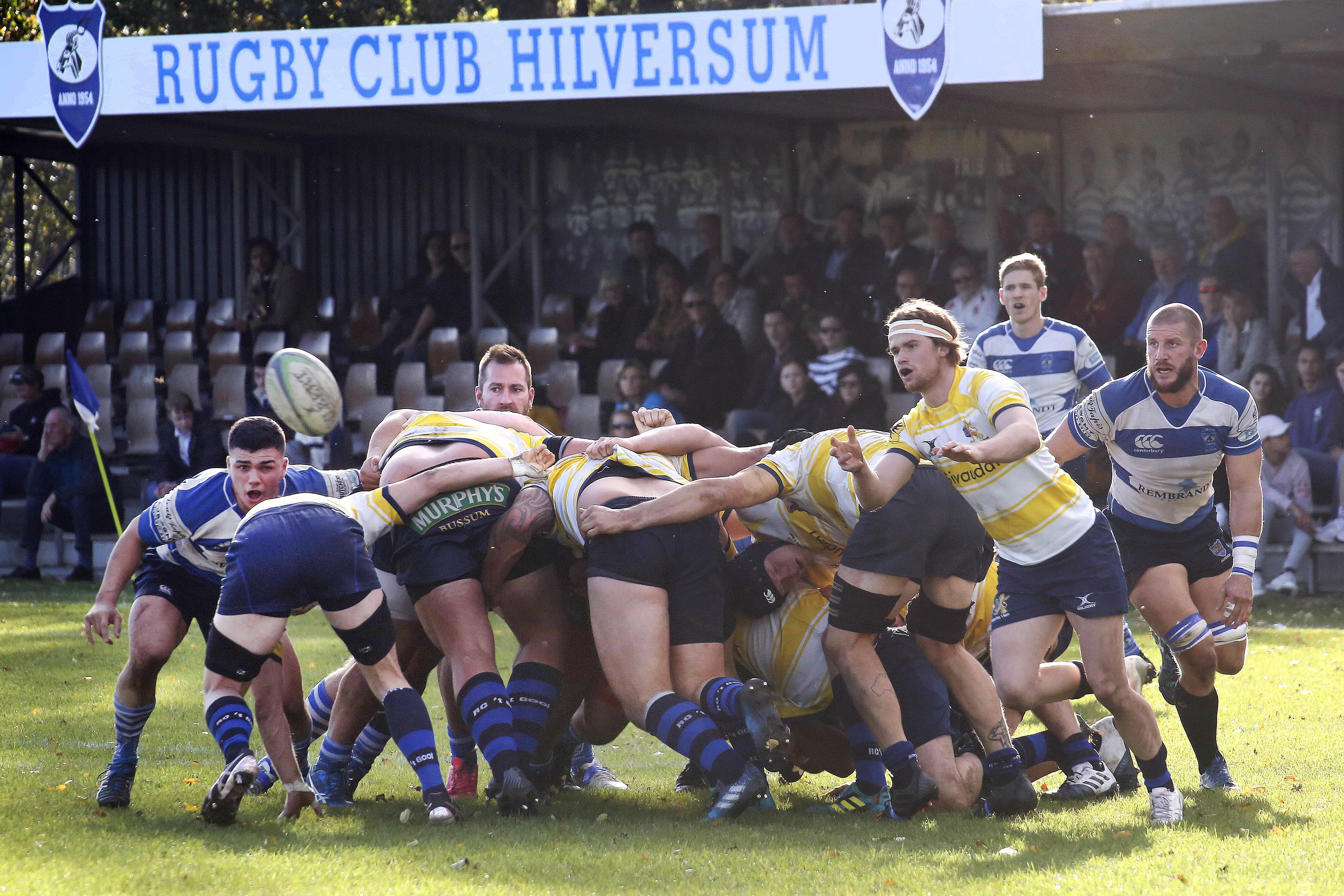 Rugbyers van Hilversum en 't Gooi weer van start: een nieuw seizoen, een andere opzet, maar dezelfde ambities