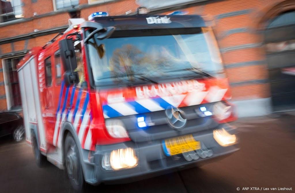 Grote brand in Carpetright in Beverwijk