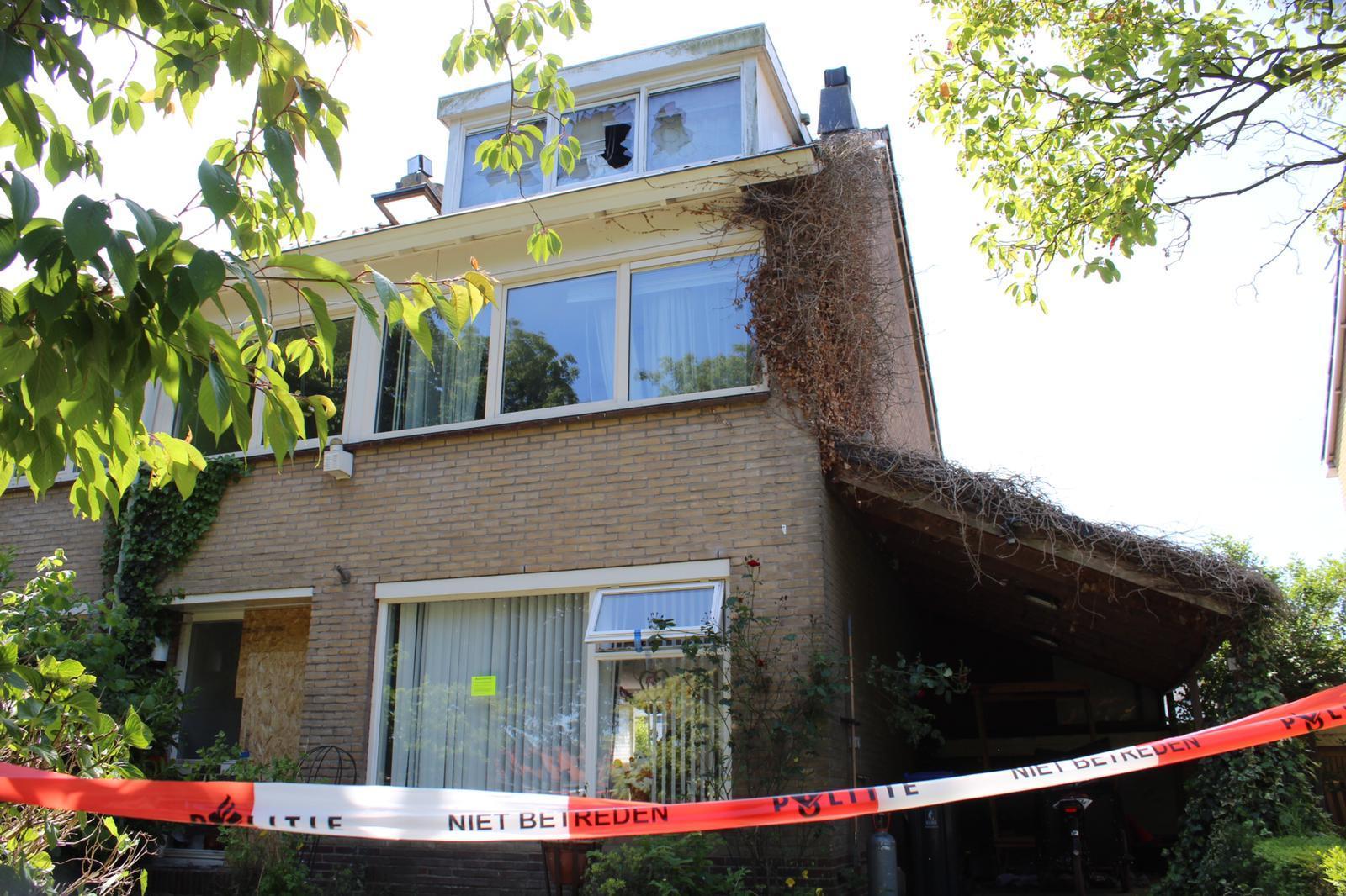 Hennepplantage aangetroffen na korte woningbrand in Muiden
