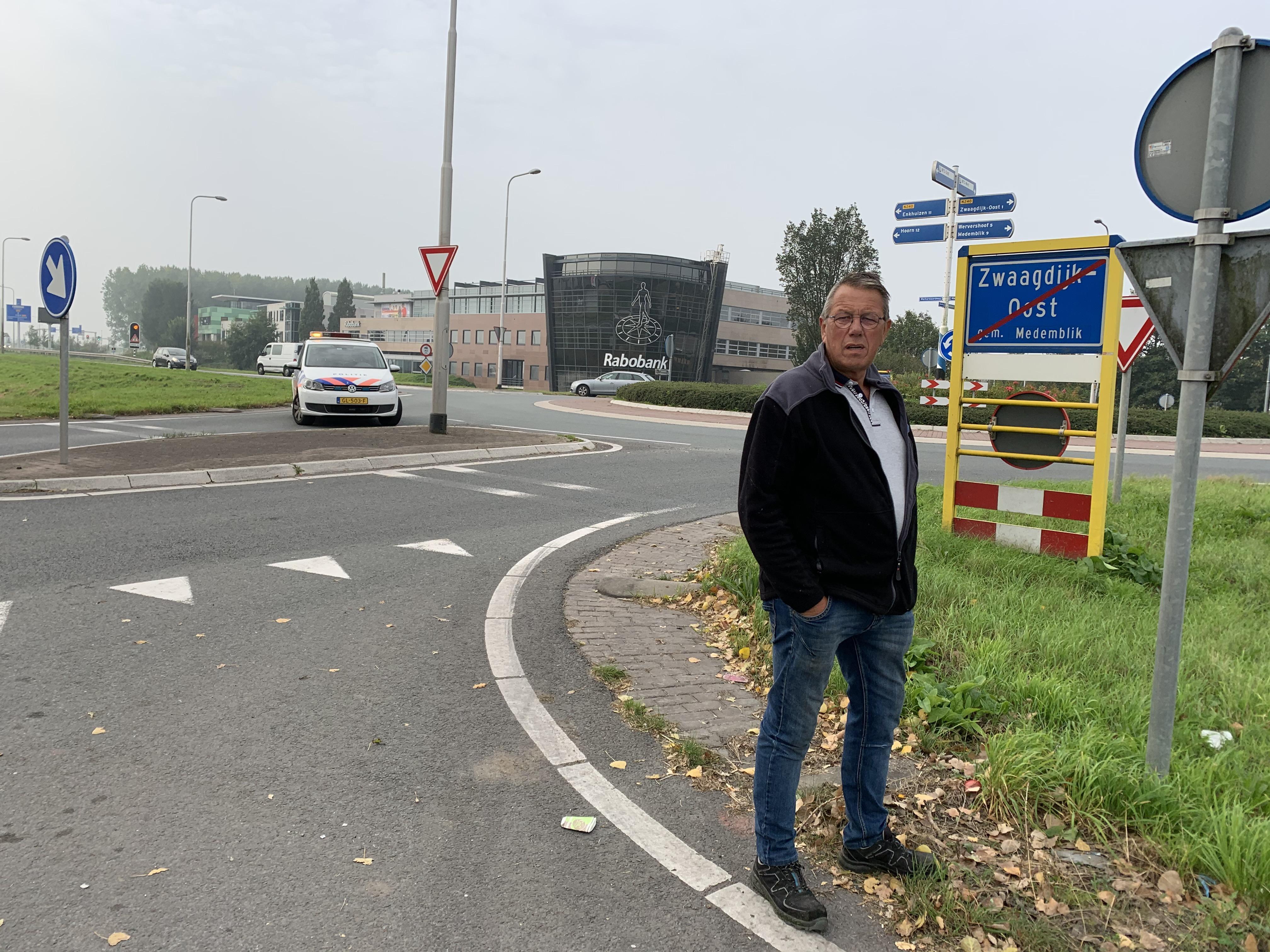 Zwaar ongeval met fietser Zwaagdijk; 'Je kon erop wachten'