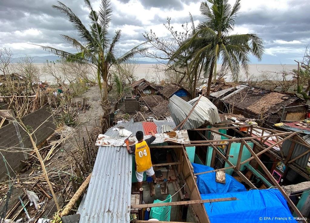 Tyfoon Goni eist zeker 16 levens op Filipijnen