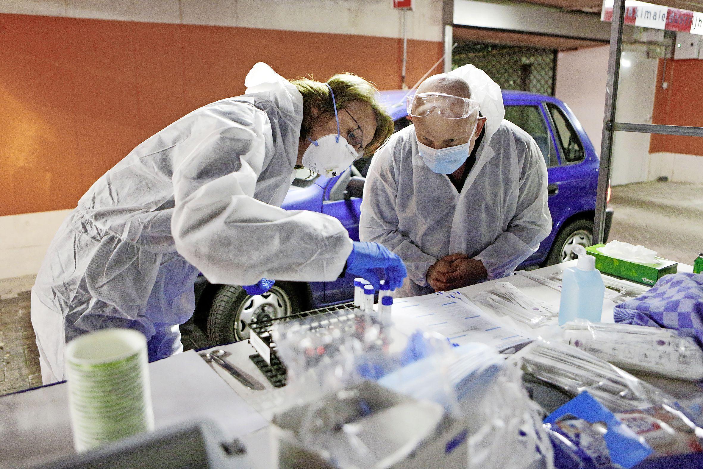 75 nieuwe besmettingen in de IJmond, eentje meer dan een dag eerder