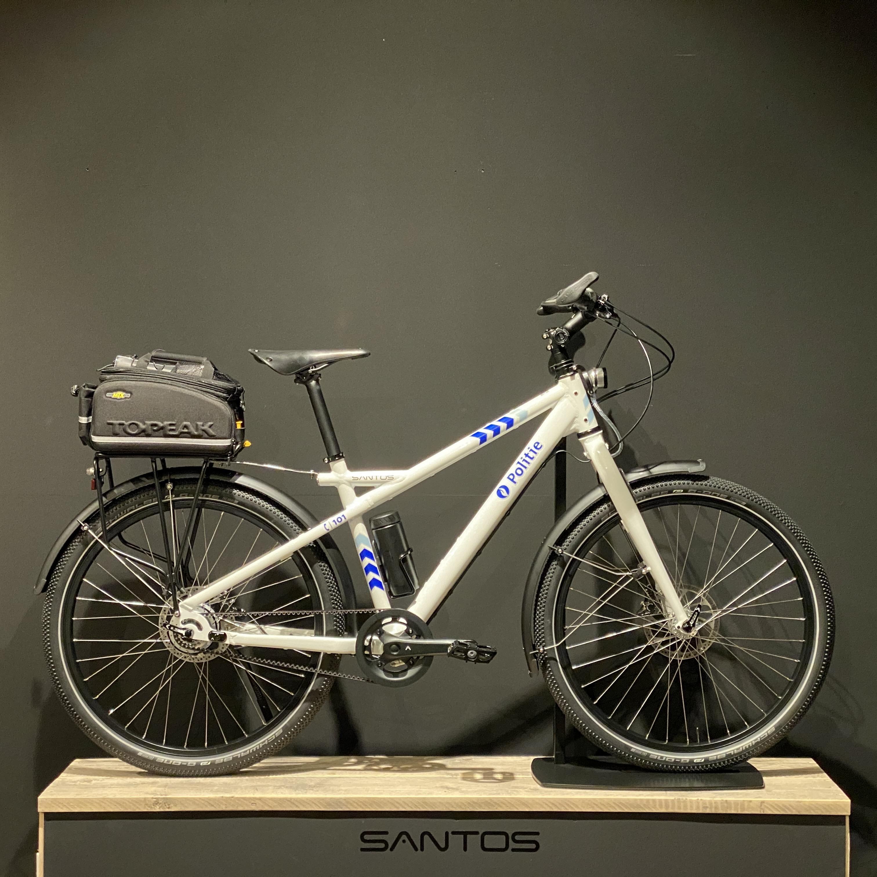 Politieagenten in Antwerpen en Gent voortaan op fietsen uit Nieuw-Vennep