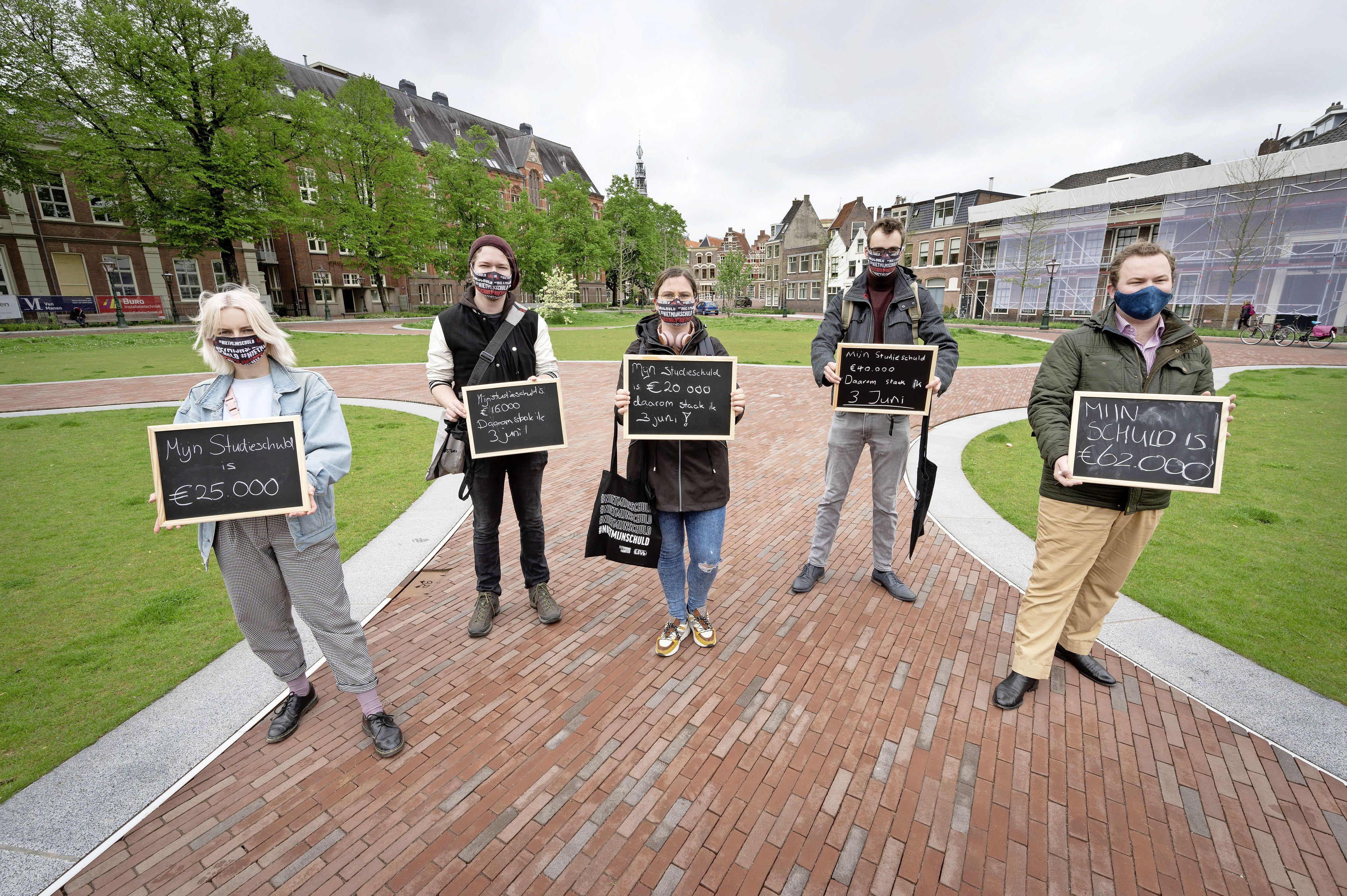Actie tegen leenstelsel: studenten gedwongen om hoge schulden aan te gaan, maar hoe erg is dat?
