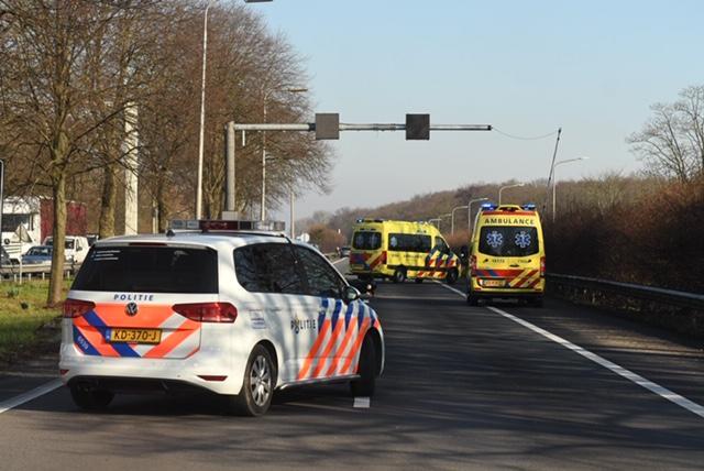 Motorrijder gewond bij ongeval op A44 bij Wassenaar