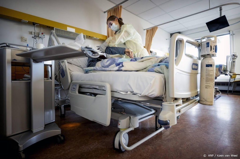 Aantal coronapatiënten in ziekenhuizen gedaald