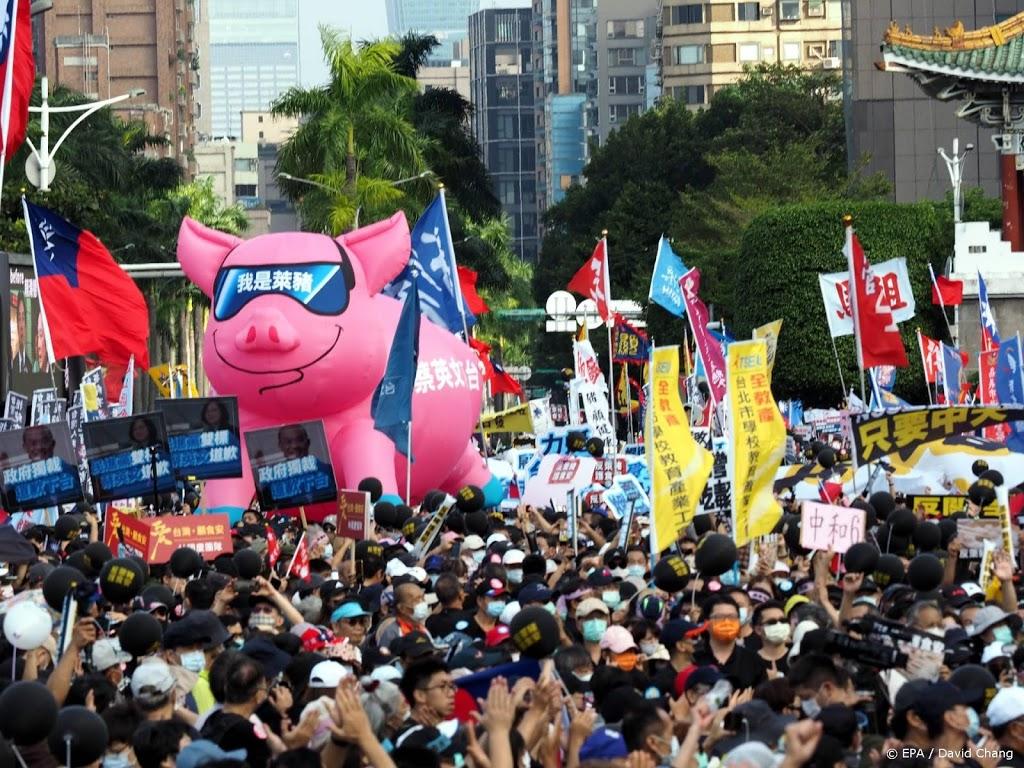 China: zwarte lijst met medestanders onafhankelijk Taiwan