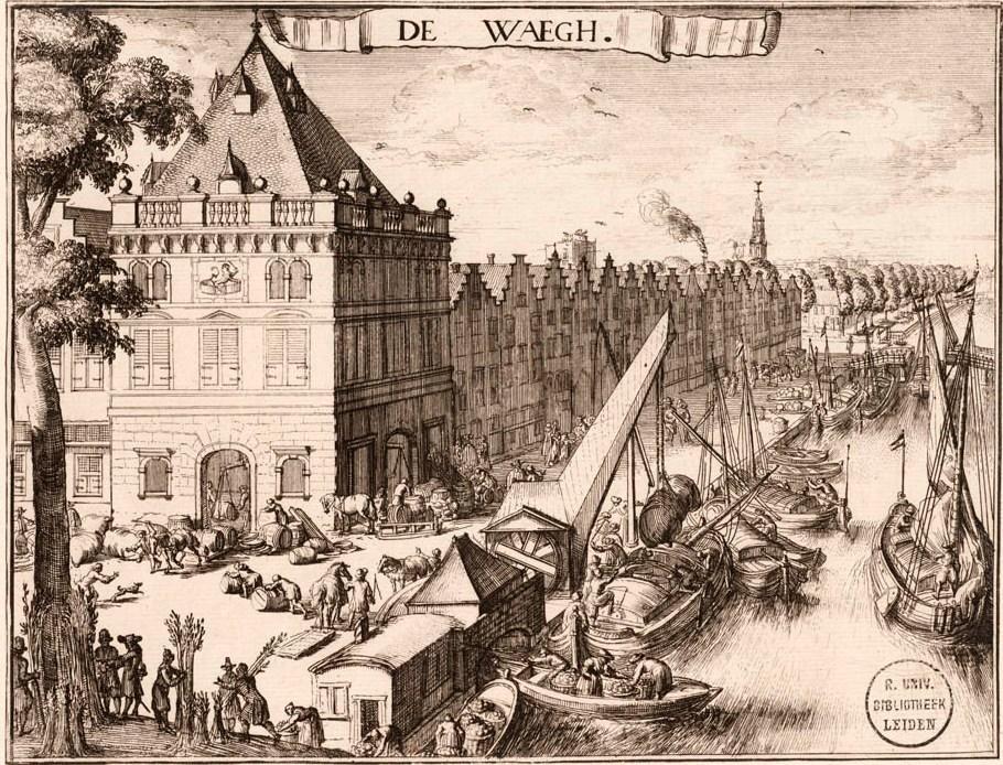 De Waag was in Haarlem de spil van het economisch leven