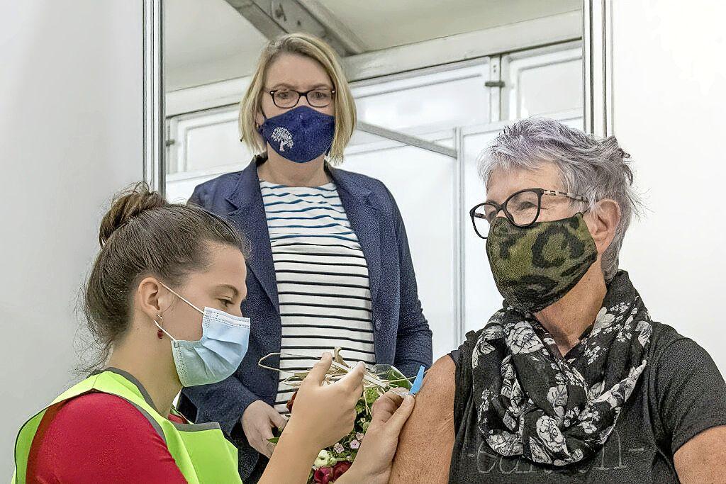 Meeste Noord-Hollanders zijn in september geprikt