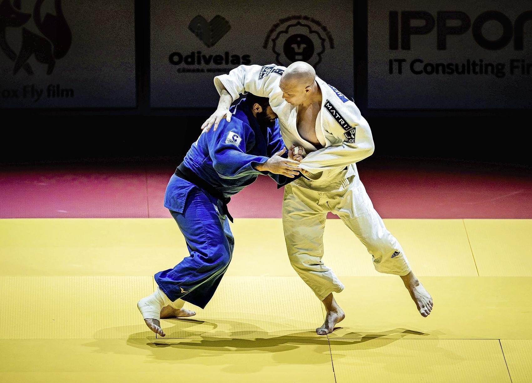 Haarlemmer Henk Grol loopt vierde Europese titel judo mis in Lissabon