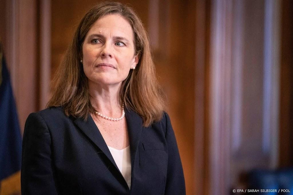 Senaatscommissie VS maakt weg vrij voor stemming opperrechter