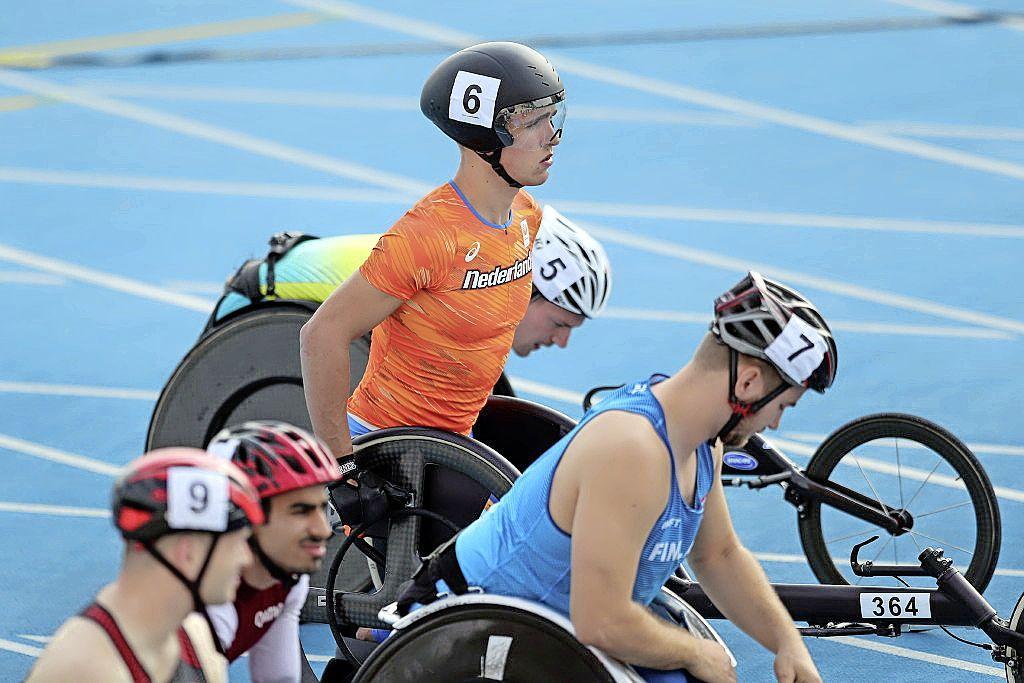 Purmerendse wheeler Stefan Rush gaat in Tokio voor het hoogst haalbare: 'Wie voor brons gaat, weet zeker dat hij geen goud haalt'