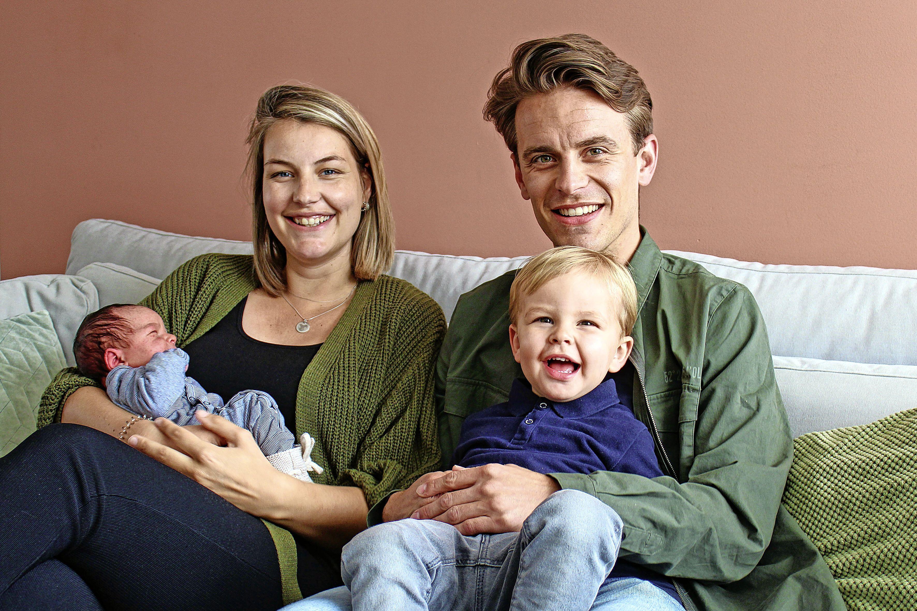 'Liever zo dan een dag ervoor of een dag erna', na geboorte tweede zoon nu drie verjaardagen op 12 mei bij familie Jansen-Vos