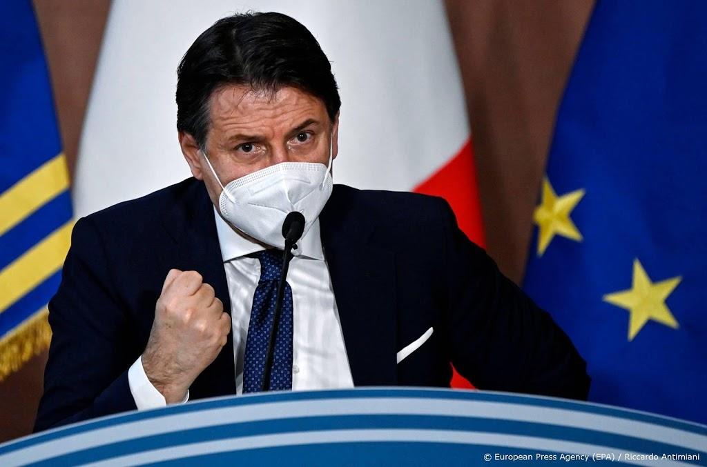 Italië verlengt avondklok en andere coronamaatregelen
