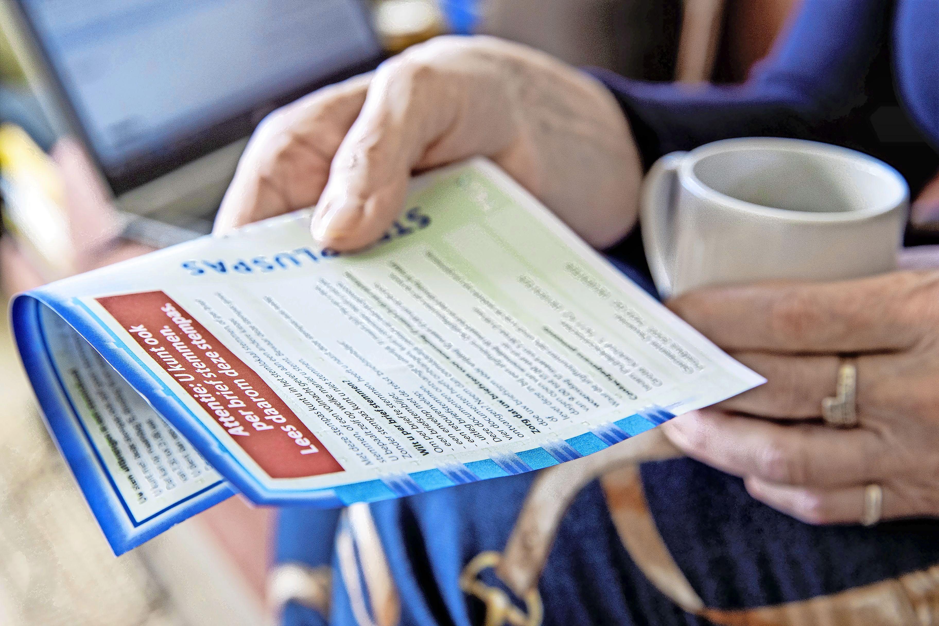 Veel briefstemmen mogelijk in Laren, Wassenaar, Bergen, Heemstede en Bloemendaal