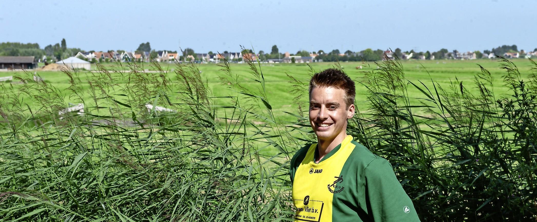Jaimy Bloem eerder dan verwacht voetballer van Knollendam: 'Keuze was eigenlijk geen keuze'