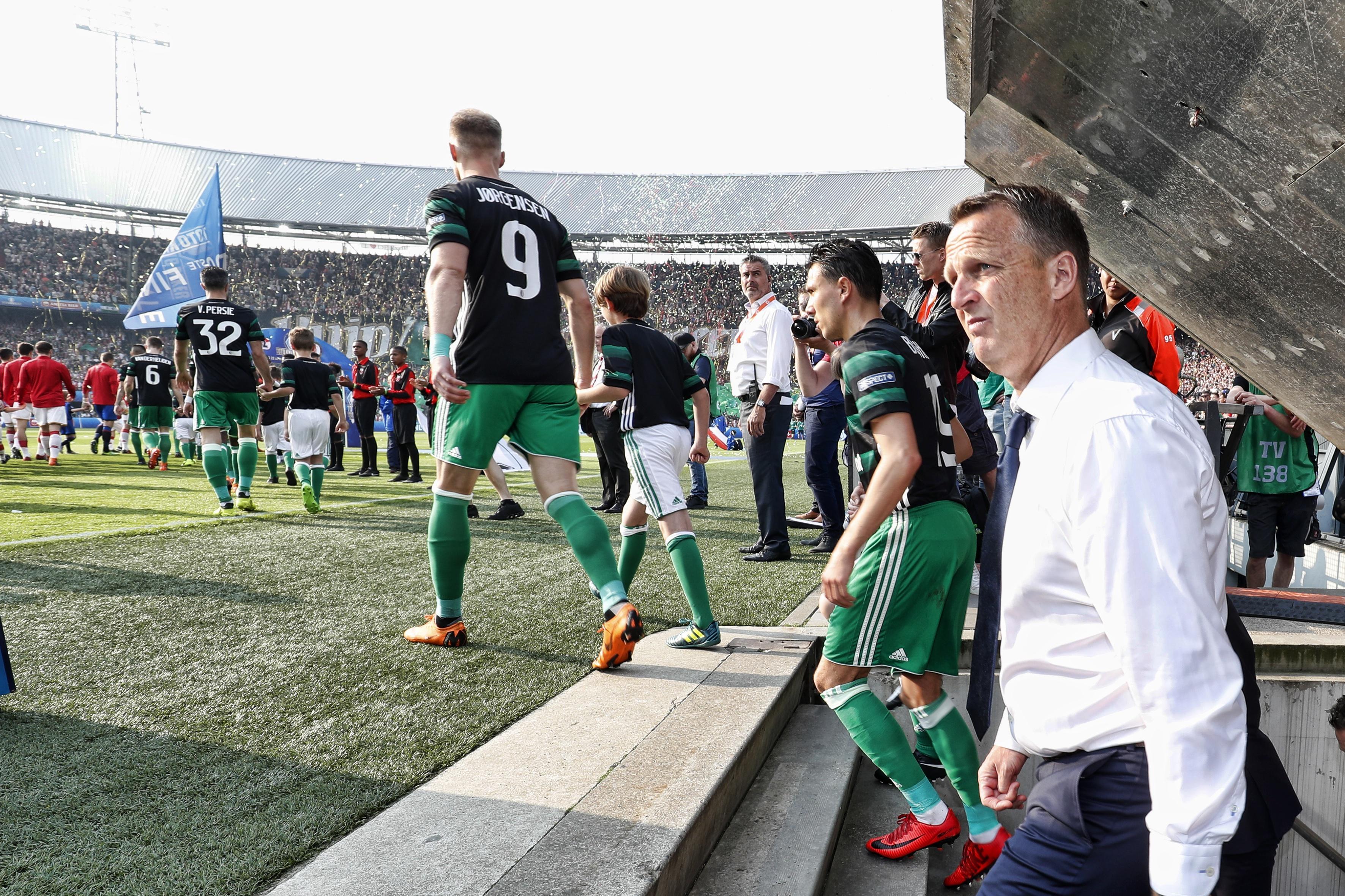 AZ na verloren bekerfinale blij met Ajax