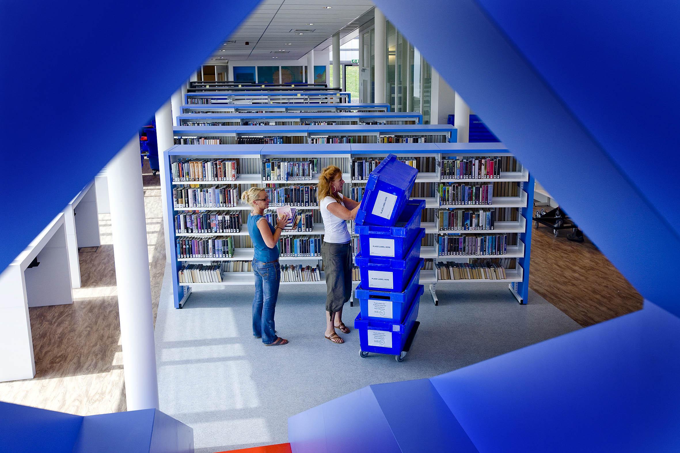 Bibliotheek in Parkzicht gaat wel open