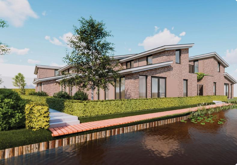 Nieuwe huizen op plek Odulphus-mavo in Lutjebroek snel verkocht, sportschool Ernst van der Zee verhuist naar Grootebroek