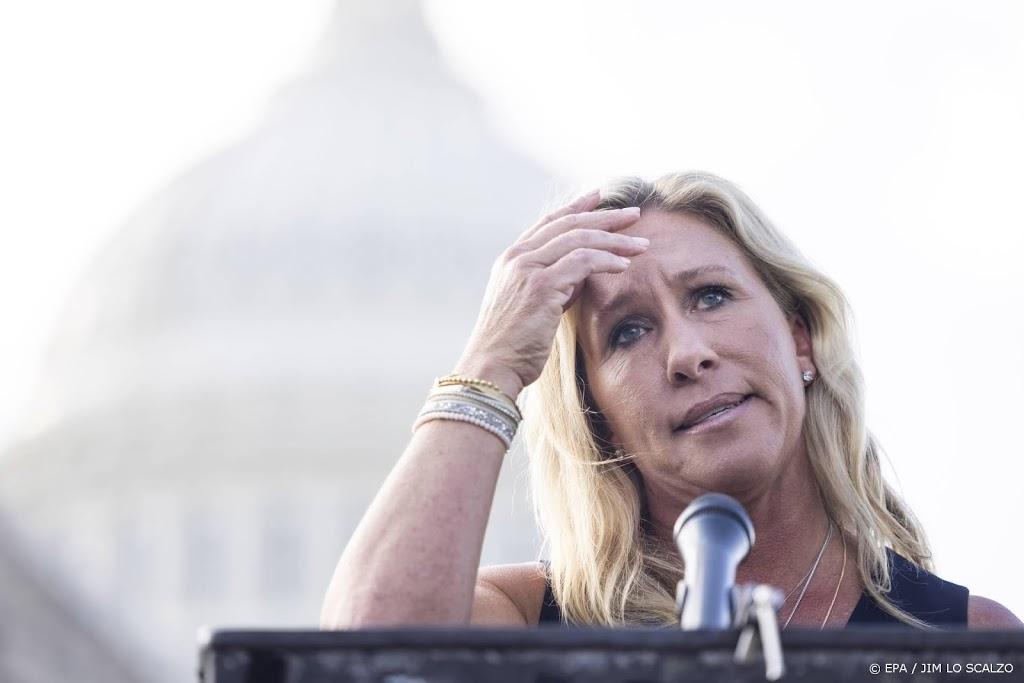VS-congreslid Greene maakt excuses voor Holocaust-vergelijking