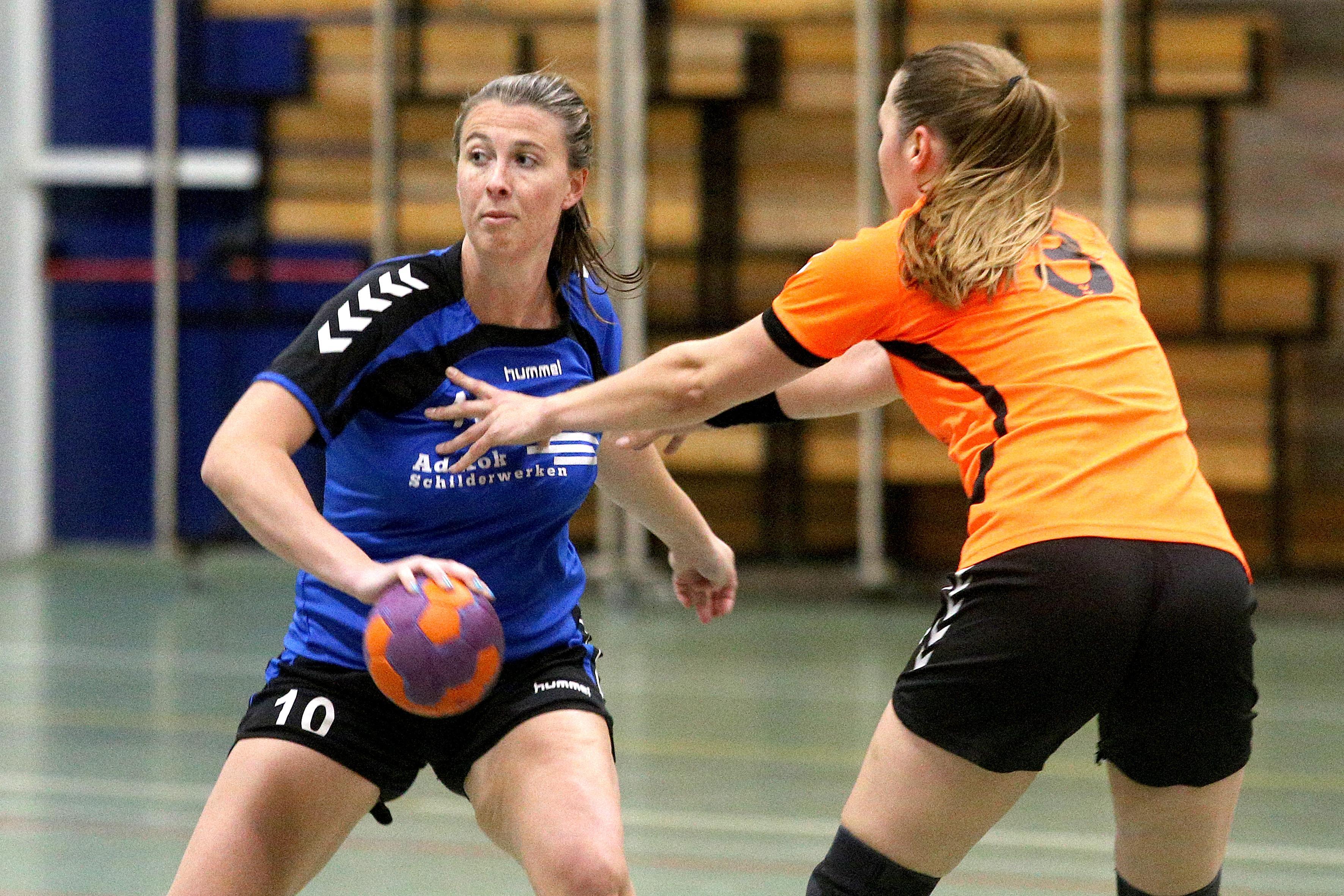 Marina Heinen blijft altijd bij HVBS: 'Handbal is m'n uitlaatklep'